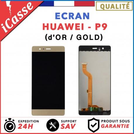 ÉCRAN COMPLET POUR HUAWEI P9 VITRE TACTILE + ÉCRAN LCD OR