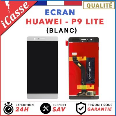 VITRE TACTILE + ECRAN LCD ORIGINAL POUR HUAWEI P9 LITE BLANC