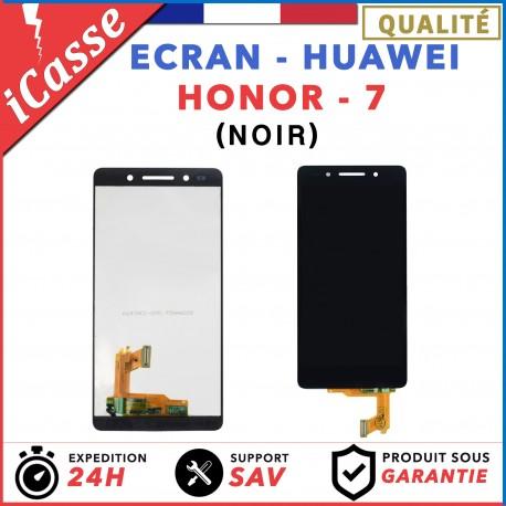 ÉCRAN COMPLET POUR HUAWEI HONOR 7 VITRE TACTILE + ÉCRAN LCD NOIR
