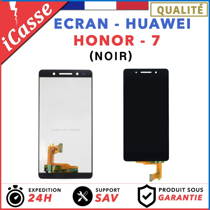 Cran complet pour huawei honor 7 vitre tactile cran for Photo ecran honor 7