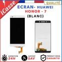 ÉCRAN COMPLET POUR HUAWEI HONOR 7 VITRE TACTILE + ÉCRAN LCD BLANC