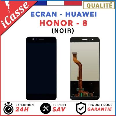 ECRAN COMPLET POUR HUAWEI HONOR 8 VITRE TACTILE+ECRAN LCD NOIR