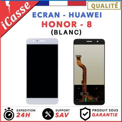 ECRAN COMPLET POUR HUAWEI HONOR 8 VITRE TACTILE+ECRAN LCD BLANC