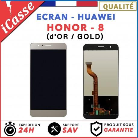 ECRAN COMPLET POUR HUAWEI HONOR 8 VITRE TACTILE+ECRAN LCD OR