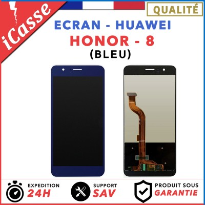 ECRAN COMPLET POUR HUAWEI HONOR 8 VITRE TACTILE+ECRAN LCD BLEU