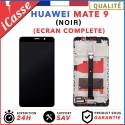ECRAN LCD + VITRE TACTILE + COMPLETE FRAME POUR HUAWEI MATE 9 NOIR