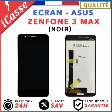 """ECRAN COMPLET POUR ASUS ZENFONE 3 MAX ZC520TL X008D 5.2"""" VITRE TACTILE LCD NOIR"""