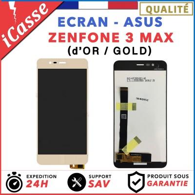 """ECRAN COMPLET POUR ASUS ZENFONE 3 MAX ZC520TL X008D 5.2"""" VITRE TACTILE LCD OR"""