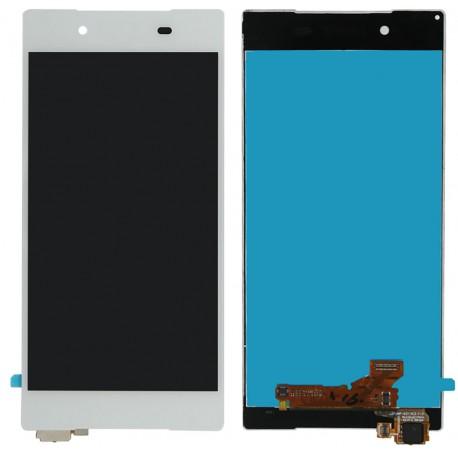 ECRAN LCD SONY XPERIA Z5 ORIGINAL NOIR OU BLANC VITRE TACTILE AVEC LOGO + OUTILS
