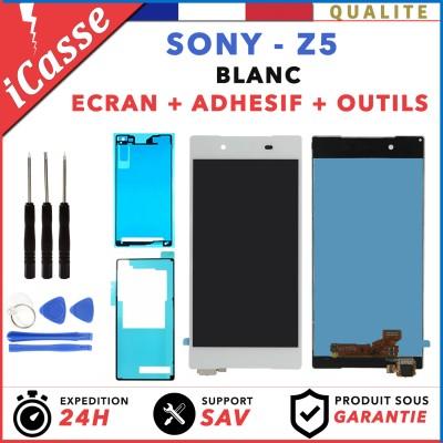 ÉCRAN LCD + VITRE TACTILE BLANC BLOC ASSEMBLÉ Pour SONY XPERIA Z5 ( E6603 E6653 )