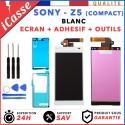 ÉCRAN LCD VITRE TACTILE Pour Sony Xperia Z5 Compact E5803 E5823 Blanc Avec Outils