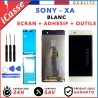 ECRAN LCD + VITRE TACTILE pour SONY XPERIA XA F3111 F3113 BLANC OUTILS + ADHESIF
