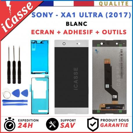 D'origine Vitre Tactile+Ecran LCD Sony Xperia XA1 Ultra (2017) G3221 G3226 Blanc