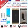 D'origine Vitre Tactile+Ecran LCD Sony Xperia XA1 Ultra (2017) G3221 G3226 OR