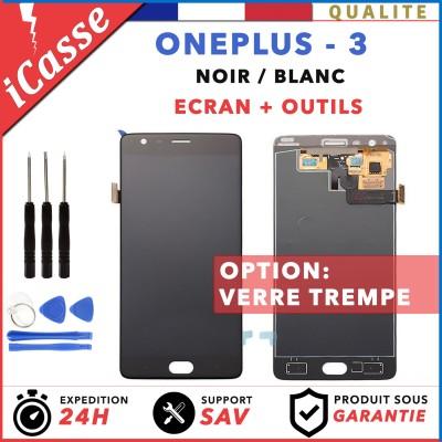 ECRAN LCD RETINA ASSEMBLÉ VITRE TACTILE POUR OnePlus 3 A3000 A3003 NOIR OU BLANC