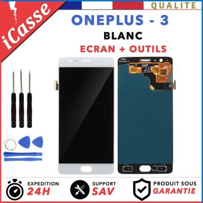 ECRAN LCD RETINA ASSEMBLÉ VITRE TACTILE POUR OnePlus 3 A3000 A3003 BLANC
