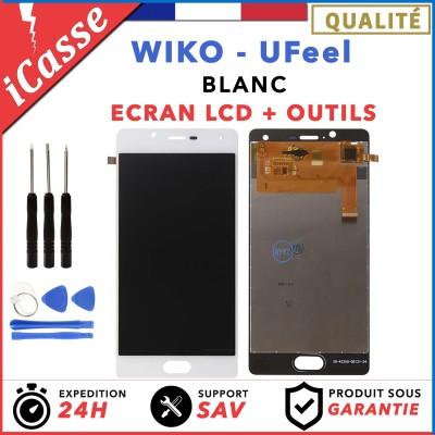 LCD + Ecran tactile assemblés Wiko Ufeel U Feel BLANC + Outils