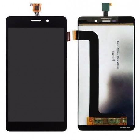 Wiko Pulp Fab 4G Noir LCD + Ecran tactile assemblés + Outils + Protection