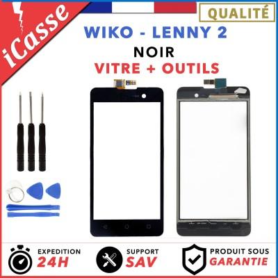 Ecran Vitre Tactile LCD POUR SONY XPERIA Z2 D6502 D6503 NOIR + 2 ADHÉSIFS OUTILS