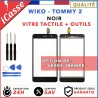 Vitre / Ecran tactile Wiko Tommy 2 Noir Outils / Protection