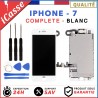 ECRAN COMPLET IPHONE 7 BLANC VITRE TACTILE + LCD RETINA SUR CHASSIS + OUTILS