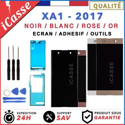 Ecran LCD Sony Xperia XA1 2017 G3121 G3116 NOIR BLANC ROSE OR +Adhesif