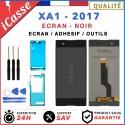 ECRAN LCD + VITRE TACTILE SONY XPERIA XA1 NOIR G3121 G3116 + OUTILS + ADHESIF