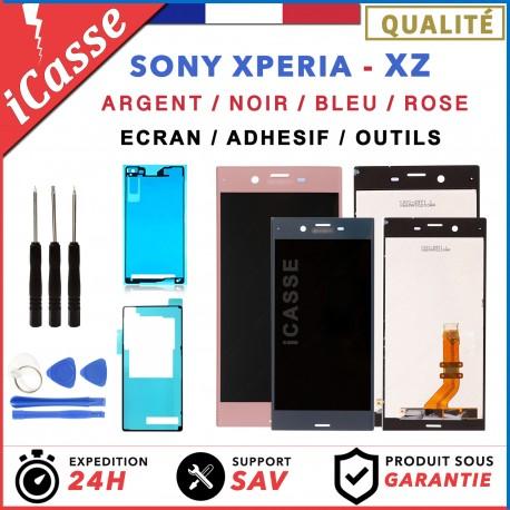 D'origine Ecran LCD Sony Xperia XZ F8331 F8332 ARGENT BLEU NOIR ROSE + ADHESIF