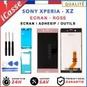 D'origine Ecran LCD Tactile Pour Sony Xperia XZ F8331 F8332 ROSE + ADHESIF