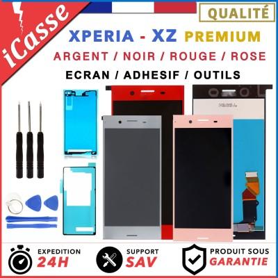 D'origine Ecran LCD Sony Xperia XZ Premium G8141 G8142 ARGENT NOIR ROSE ROUGE