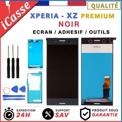 D'origine Ecran LCD POUR Sony Xperia XZ Premium NOIR G8141 G8142 + ADHESIF
