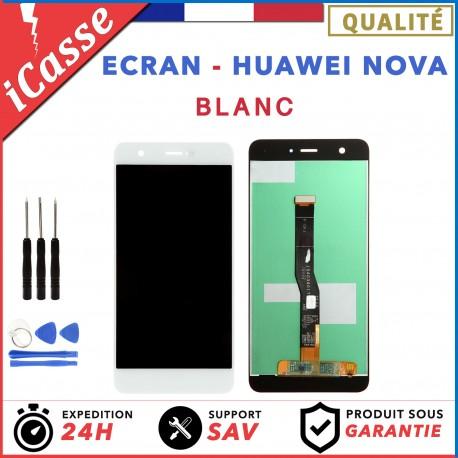 VITRE TACTILE + ECRAN LCD ORIGINAL POUR HUAWEI NOVA BLANC CAN-L01 + OUTILS