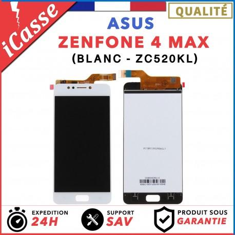 ECRAN LCD COMPLETE POUR ASUS ZENFONE 4 MAX ZC520KL X00HD BLANC