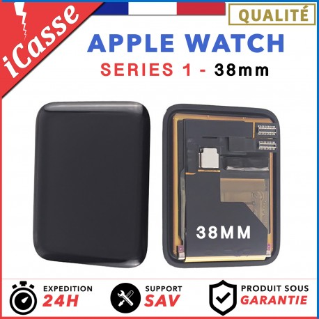ECRAN COMPLET POUR MONTRE APPLE WATCH SERIES 1 38MM 38 mm VITRE TACTILE + LCD