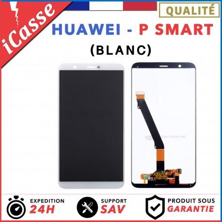 """Ecran complet pour Huawei P Smart PSmart 5.65"""" vitre tactile + LCD BLANC"""