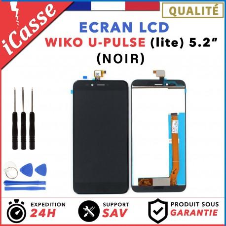 Ecran complet pour Wiko UPulse U-Pulse Lite 5.2 vitre tactile + LCD NOIR