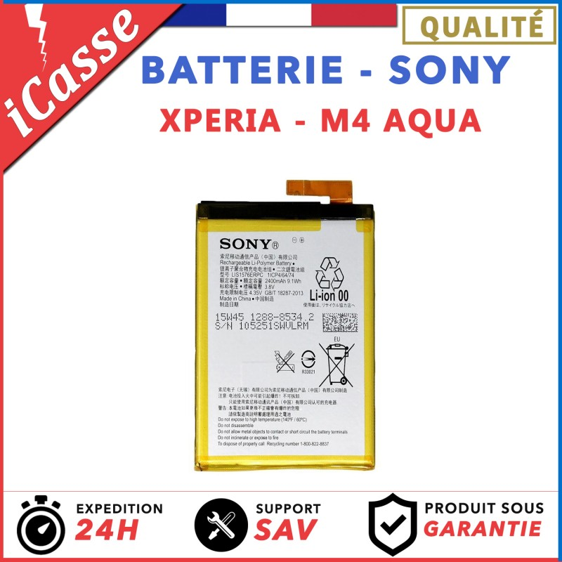 ORIGINAL BATTERIES SONY XPERIA Z1 / Z2 / Z3/ Z5 - iCasse - Pièces et