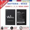 Batterie Wiko 3702 2600 mAh Lenny 1 / Lenny 2 / Lenny 3 / Jerry