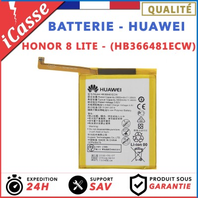 BATTERIE HUAWEI HONOR 8 LITE / BATTERIE MODEL HB366481ECW