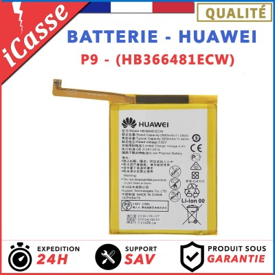 BATTERIE HUAWEI P9 / BATTERIE MODEL HB366481ECW