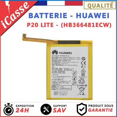 BATTERIE HUAWEI P20 LITE / BATTERIE MODEL HB366481EC
