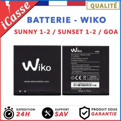 Batterie Wiko Sunset 1 et 2, Wiko Sunny 1 et 2, Wiko GOA - Type 4050 / 1300mAh
