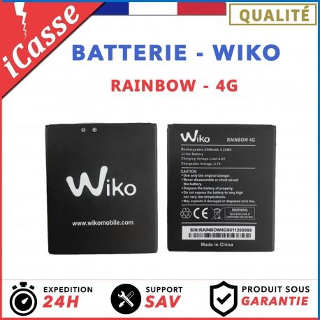 BATTERIE INTERNE 2500 mAh NEUVE WIKO RAINBOW 4G UNIQUEMENT (INCOMPATIBLE 3G)