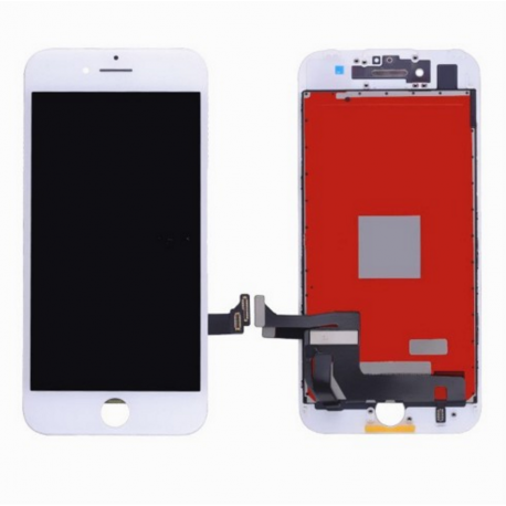 ECRAN LCD + VITRE TACTILE SUR CHASSIS POUR IPHONE 7 OU 7 PLUS