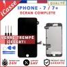 ECRAN COMPLET IPHONE 7 ET 7 PLUS VITRE TACTILE + LCD RETINA SUR CHASSIS