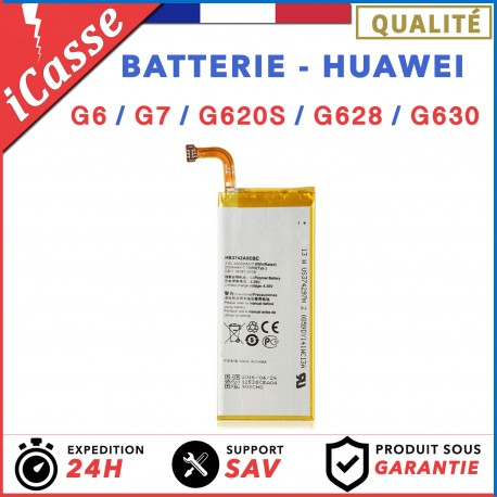BATTERIE HUAWEI Series G - G6 / G7 / G620s / G628 / G630 Modele HB3742A0EBC
