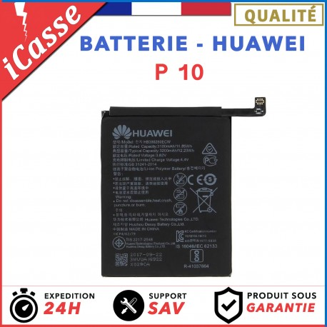 BATTERIE HUAWEI P10 / 3200 mAh MODELE BATTERIE HB386280ECW