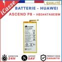 Batterie ORIGINALE pour Huawei P8 Ascend P8 - HB3447A9EBW 2520 mAh