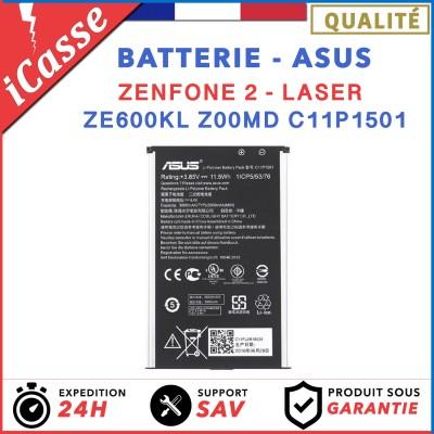 Batterie ORIGINALE pour Asus Zenfone 2 Laser ZE600KL Z00MD C11P1501 3000mAh