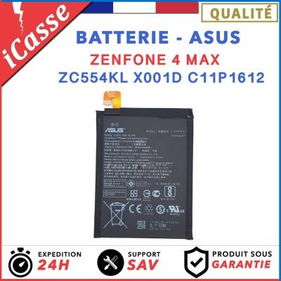 Batterie ORIGINALE pour Asus Zenfone 4 Max ZC554KL X001D C11P1612 5000mAh